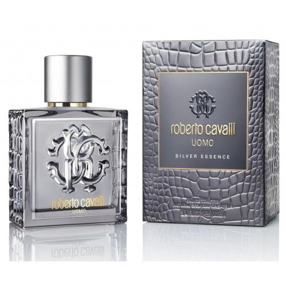 Roberto Cavalli Uomo Silver Essence Eau de Toilette 60ml متجر خبير الع