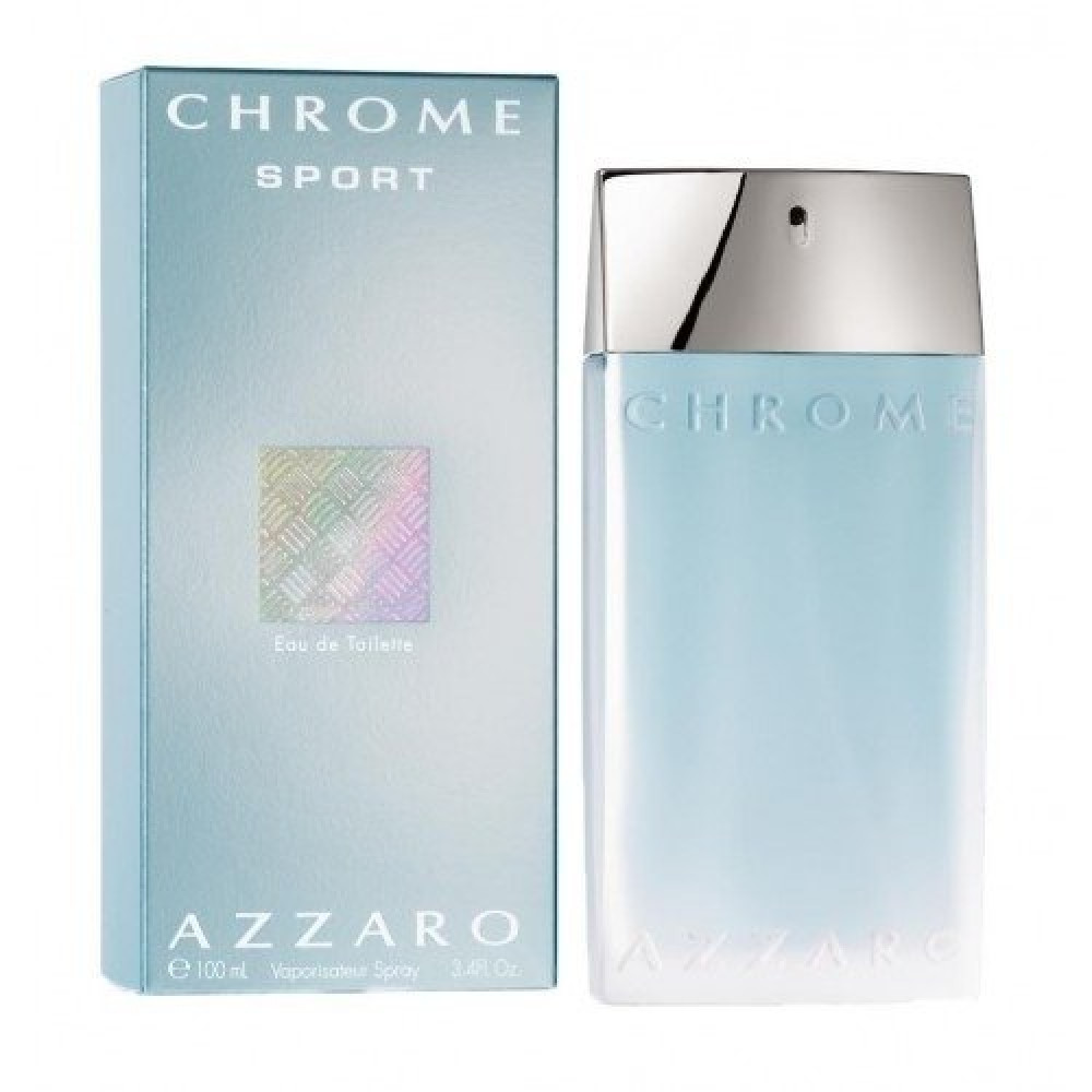 Azzaro Chrome Sport  Eau de Toilette 100ml خبير العطور