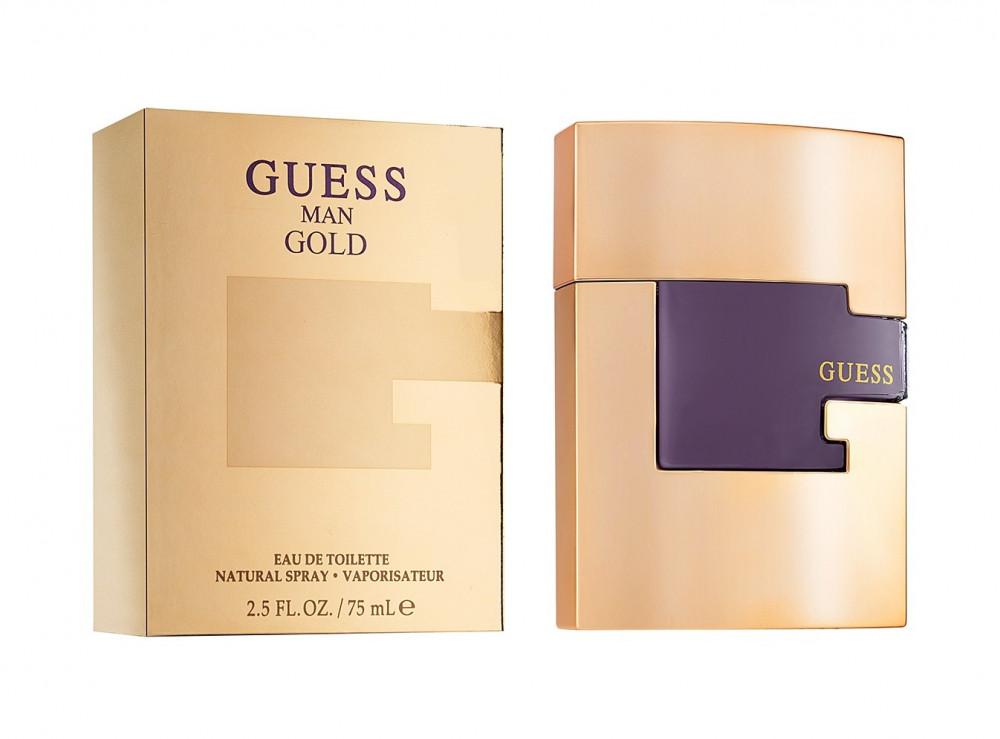 Guess Gold Man Eau de Toilette 75ml متجر الخبير شوب