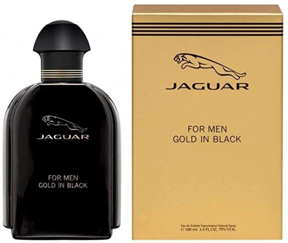 Jaguar Gold In Black for Men Eau de Toilette 100ml متجر الخبير شوب