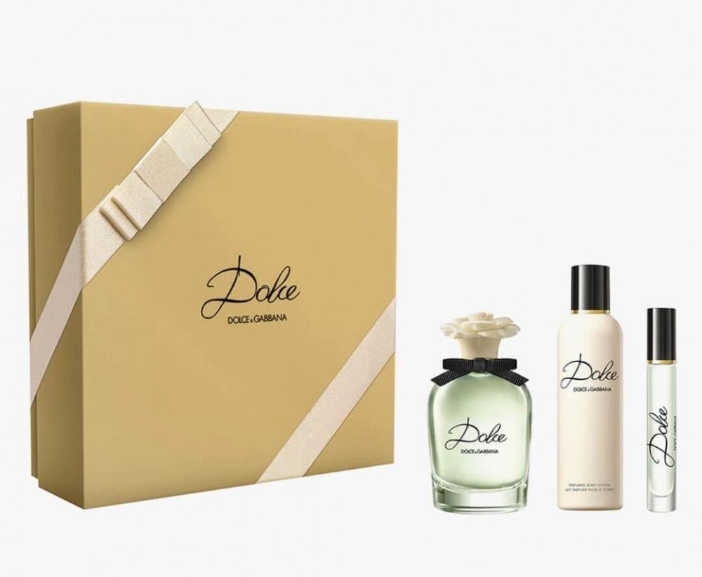 Dolce  Gabbana Dolce Eau de Parfum 75ml 3 Gift Set متجر الخبير شوب