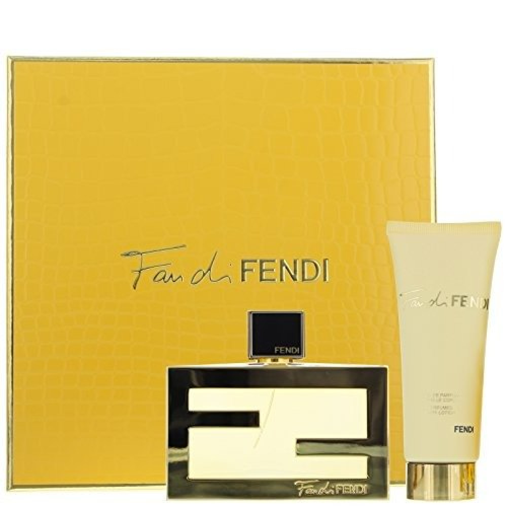 Fendi Fan di Fendi for Woman Eau de Parfum 75ml 2 Gift Set متجر الخبير