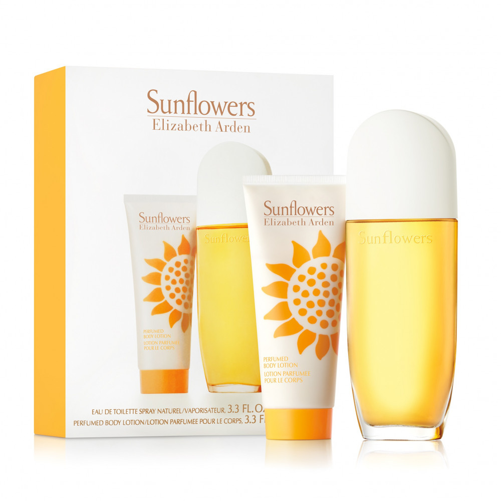 Elizabeth Arden Sunflowers Eau de Toilette 100ml 2 Gift Set متجر الخبي