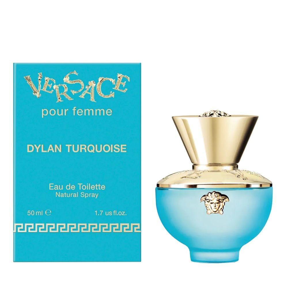 Versace Pour Femme Dylan Turquoise Eau de Toilette 50ml متجر الخبير شو