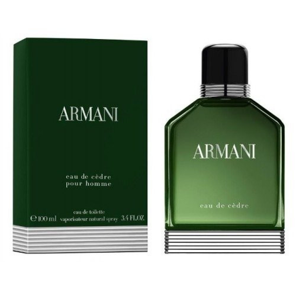 Armani Eau de Cedre Eau de Toilette Sample1-2ml متجر الخبير شوب