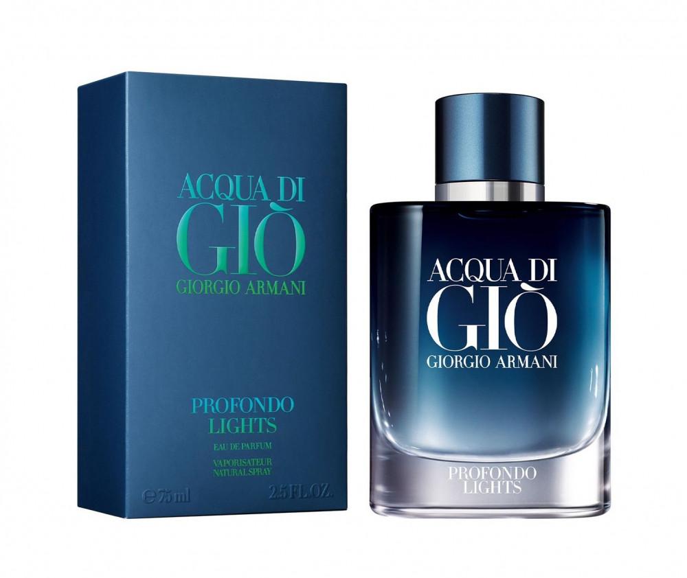 Armani Acqua Di Gio Profondo Lights for Men Eau de Parfum 125ml متجر ا
