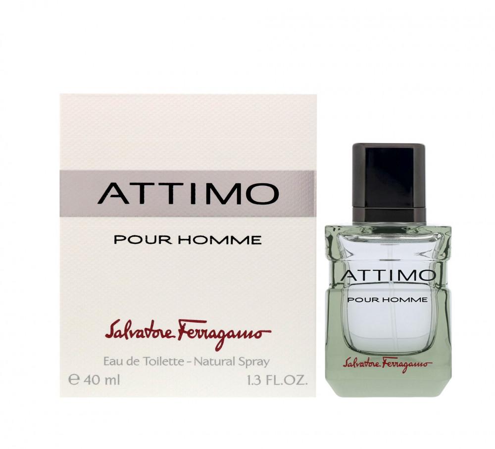 Salvatore Ferragamo Attimo Pour Homme Eau de Toilette 40ml متجر الخبير