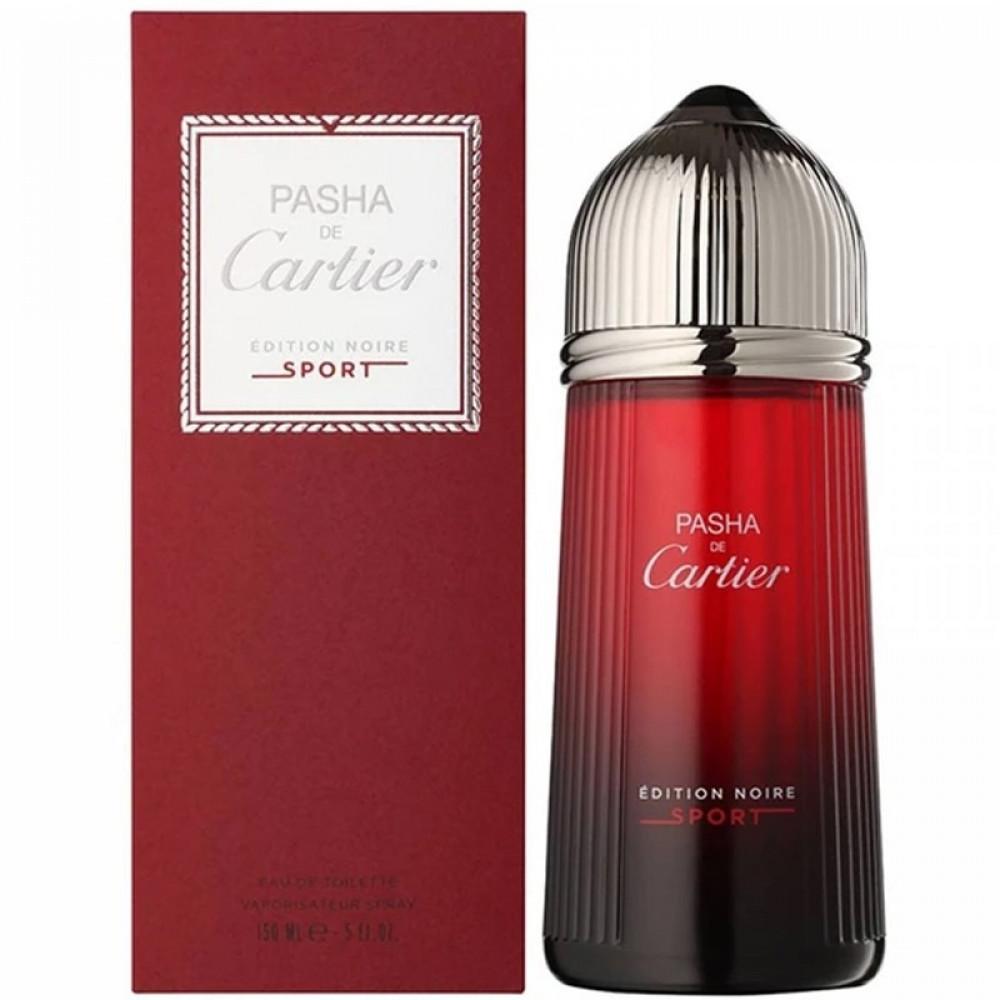 Cartier Pasha de Cartier Edition Noire Sport Eau de Toilette 150ml متج