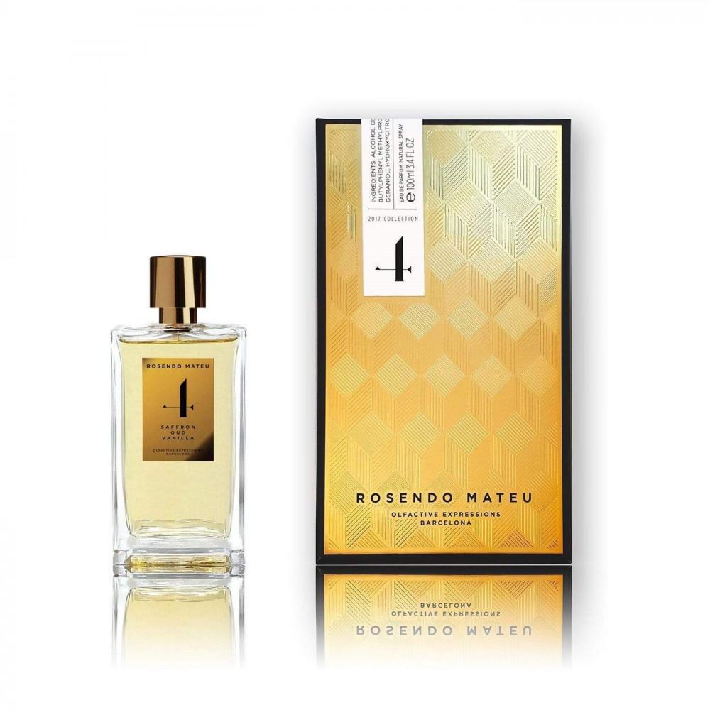 Rosendo Mateu Nº 4 Saffron Oud Vanilla Eau de Parfum 100ml متجر الخبير
