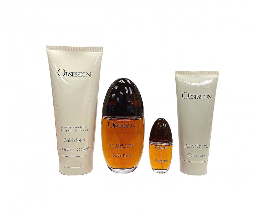 Calvin Klein Obsession Eau de Parfum 100ml 4 Gift Set متجر الخبير شوب