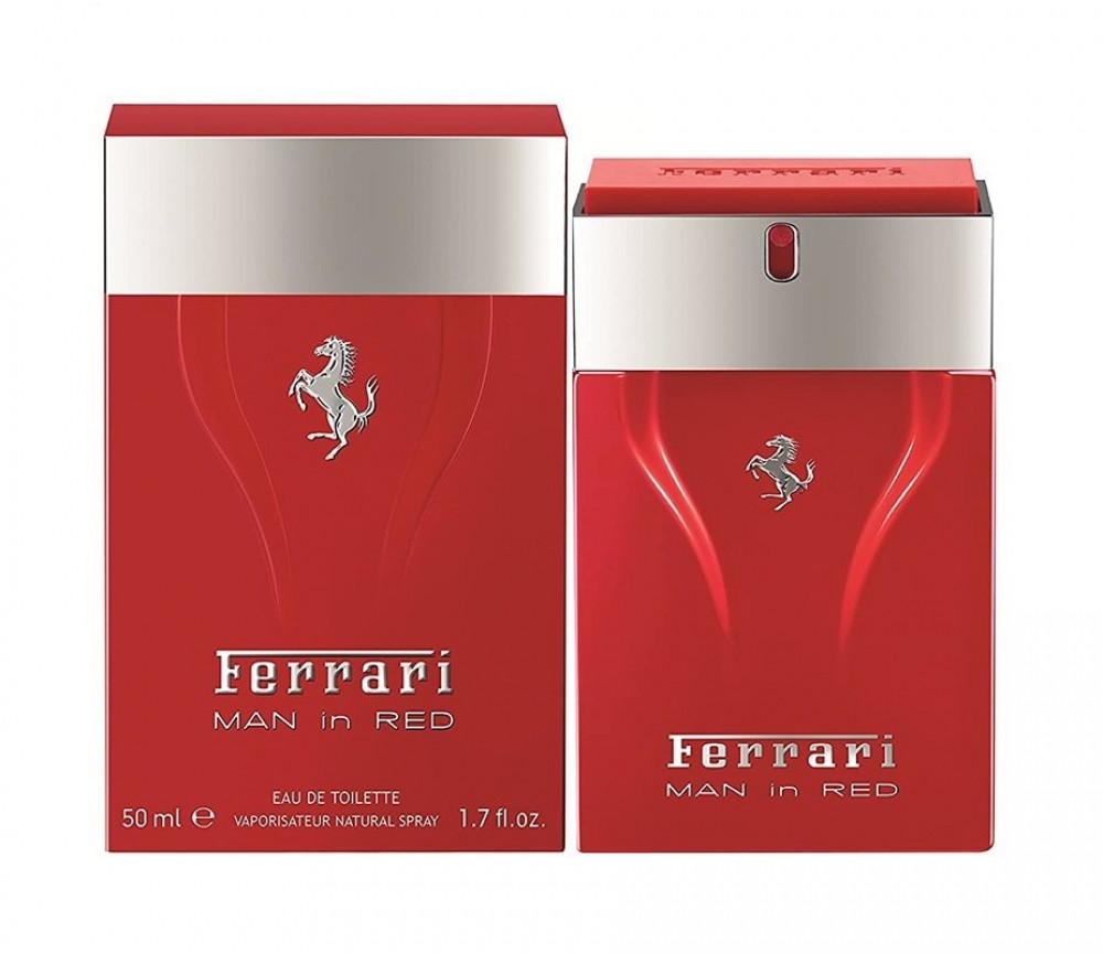 Ferrari Man In Red Eau de Toilette 50ml متجر الخبير شوب