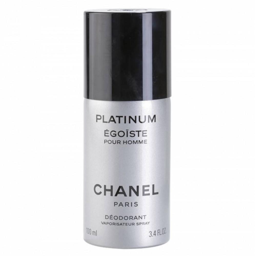 Chanel Egoiste Platinum Deodorant 100ml متجر الخبير شوب