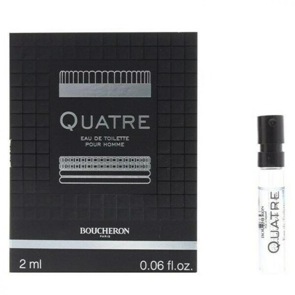 Boucheron Quatre for Men Eau de Toilette Sample 2ml متجر الخبير شوب