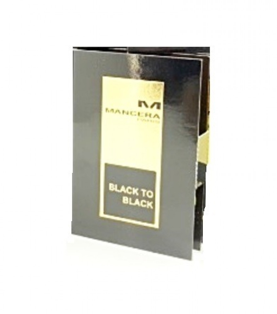 Mancera Black To Black Eau de Parfum Sample 2ml متجر الخبير شوب