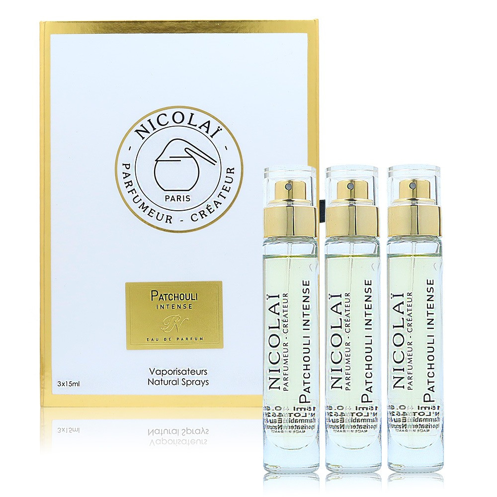 Collection Nicolai Patchouli Intense Eau de Parfum 3x15ml
