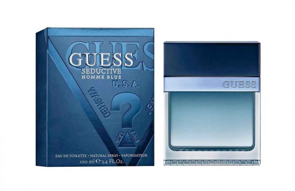 Guess Seductive Blue Homme Eau de Toilette 100ml متجر الخبير شوب