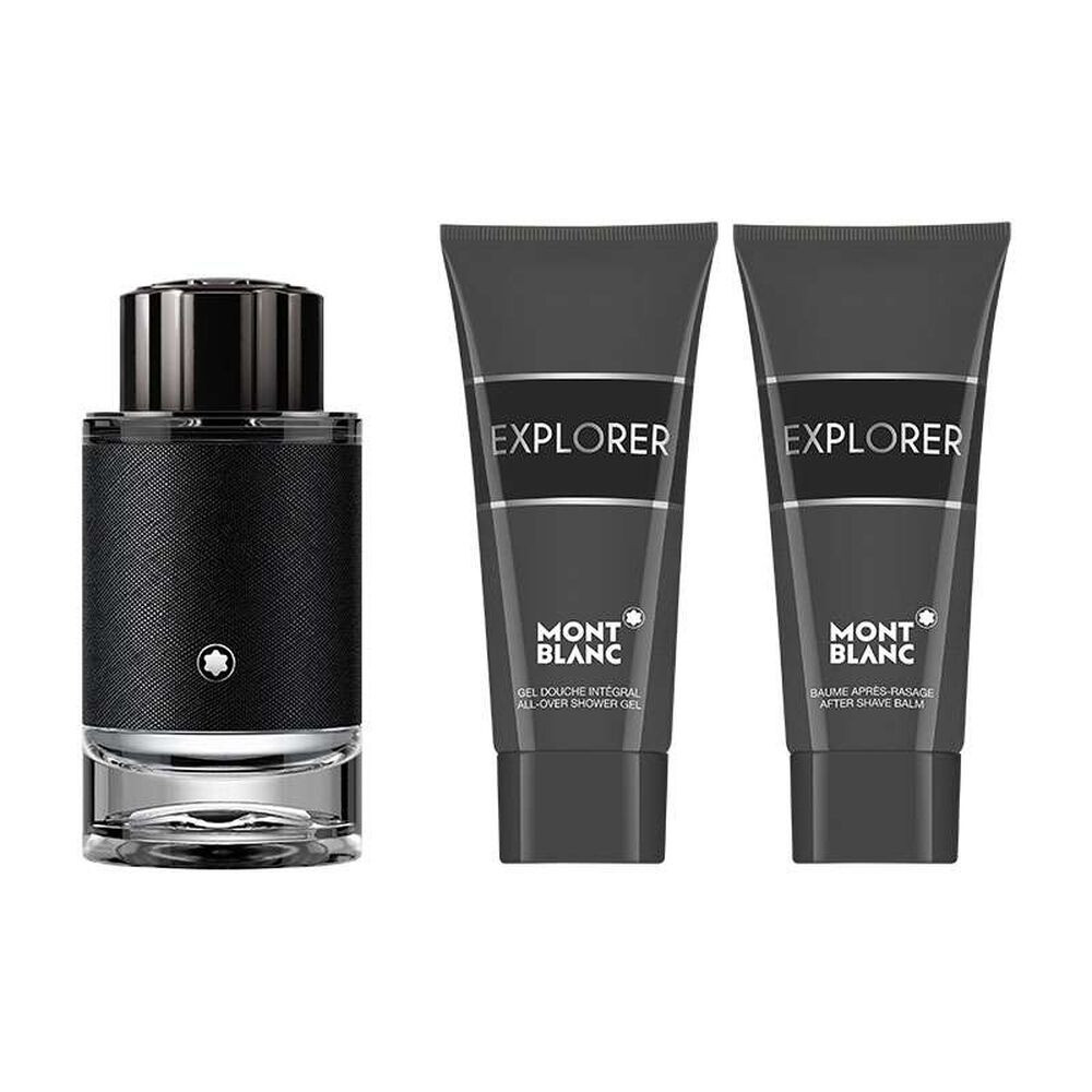 Mont Blanc Explorer Eau de Parfum 100ml 3 Gift Set متجر الخبير شوب