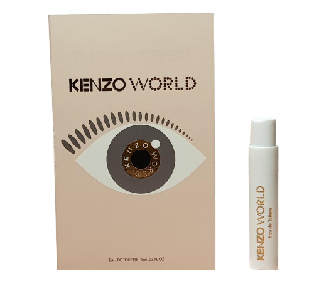 Kenzo World Eau de Toilette Sample 1ml متجر الخبير شوب