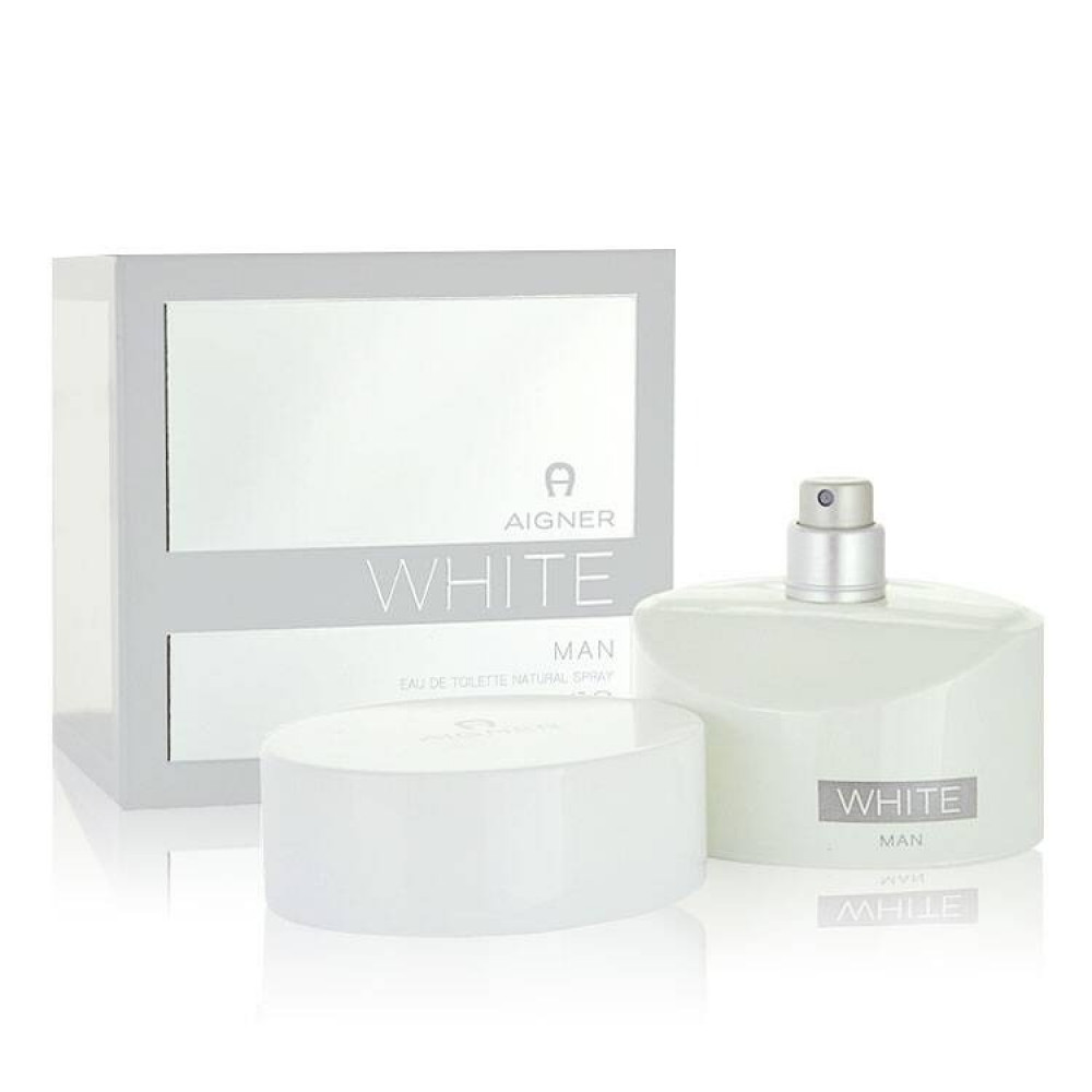 Aigner In White for Men Eau de Toilette 125ml متجر الخبير شوب