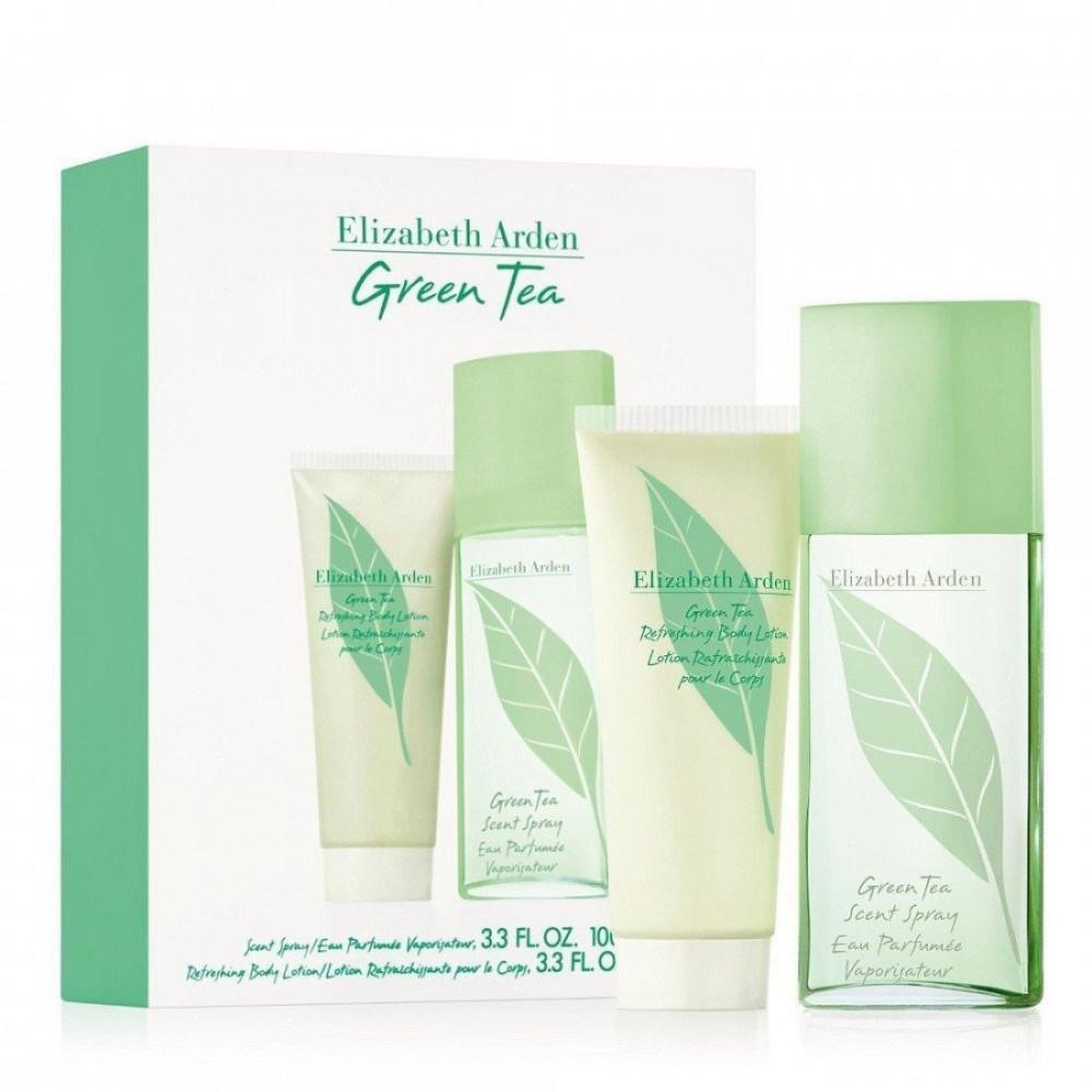 Elizabeth Arden Green Tea Eau de Parfum 100ml 2 Gift Set متجر الخبير ش