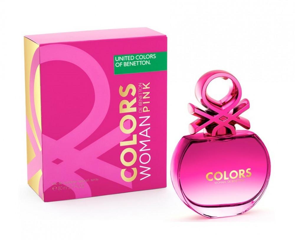 Benetton Colors de Benetton Pink Eau de Toilette 80ml متجر الخبير شوب
