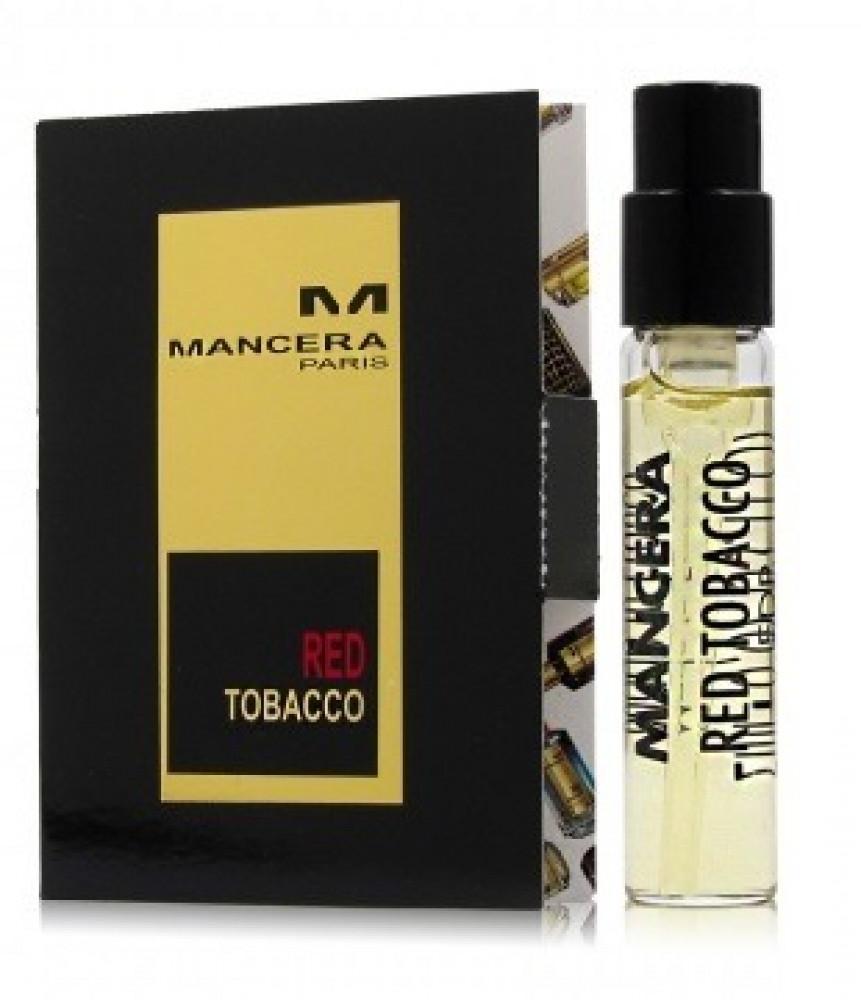 Mancera Red Tobacco Eau de Parfum Sample 2ml متجر الخبير شوب