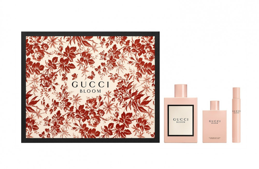 Gucci Bloom Eau de Parfum 100ml 3 Gft Set متجر الخبير شوب