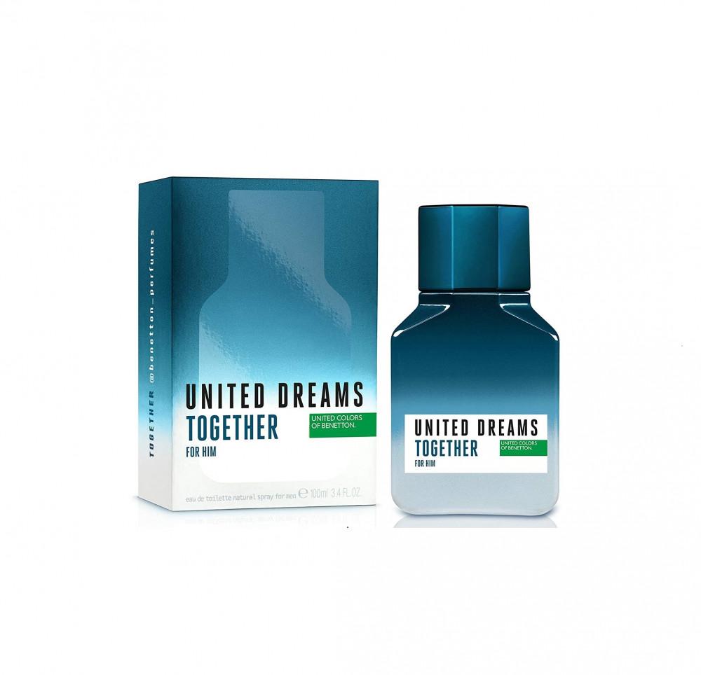 Benetton United Dreams Together for Him Toilette 100ml متجر الخبير شوب