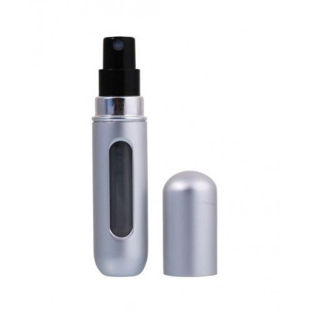 Refillable Spray Mini Perfume Bottle 5ml-Silver متجر خبير شوب