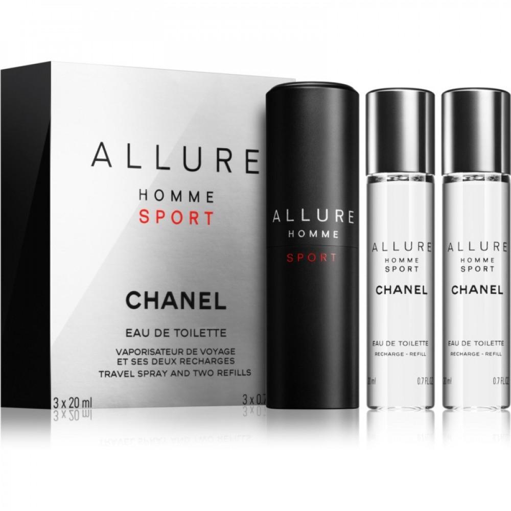 Collection Chanel Allure Homme Sport  Toilette 20ml متجر خبير شوب