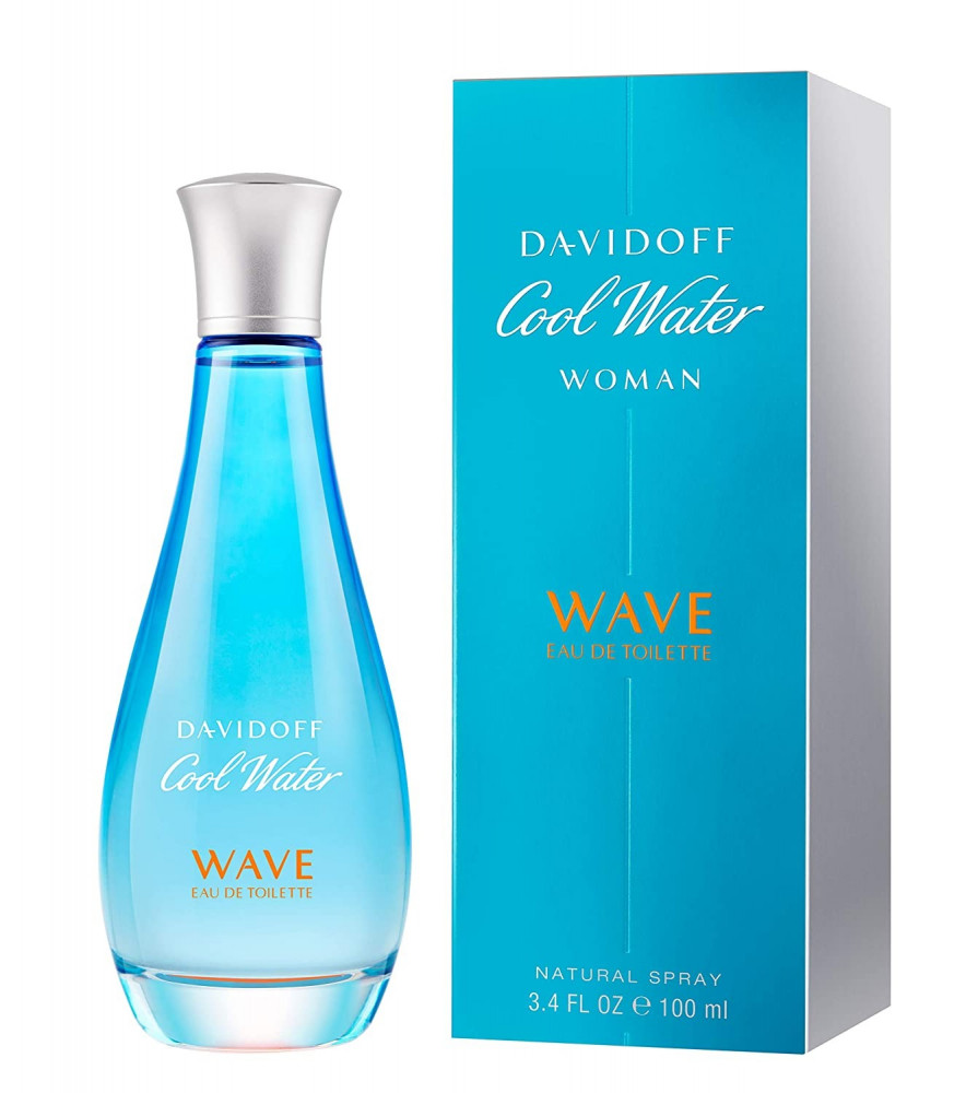 Cool Water Wave for Women Eau de Toilette 100 ml متجر الخبير شوب