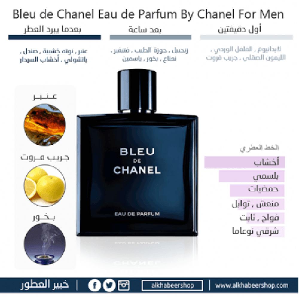 Tester Chanel Bleu de Chanel Eau de Parfum 100ml متجر الخبير شوب