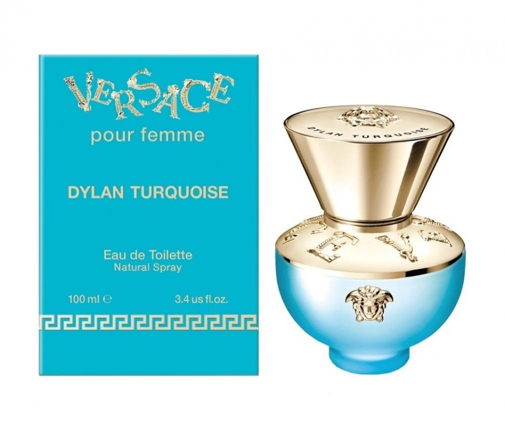 Versace Pour Femme Dylan Turquoise Eau de Toilette 100ml متجر الخبير ش