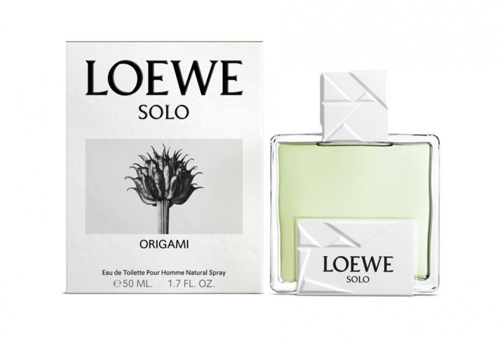 Loewe Solo Origami Eau de Toilette 50ml متجر الخبير شوب