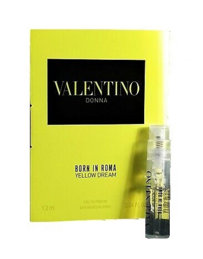 Valentino Donna Born In Roma Yellow Dream Eau de Parfum 1 2ml متجر الخ