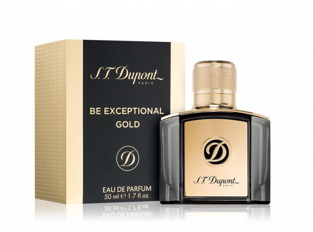 S T  Dupont Be Exceptional Gold Eau de Parfum 50ml متجر الخبير شوب