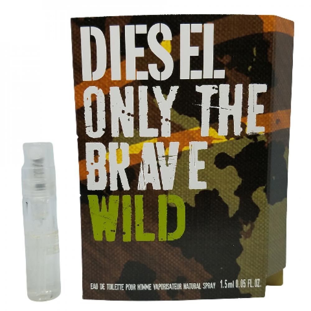 Diesel Only The Brave Wild Toilette Sample 1-5ml متجر الخبير شوب