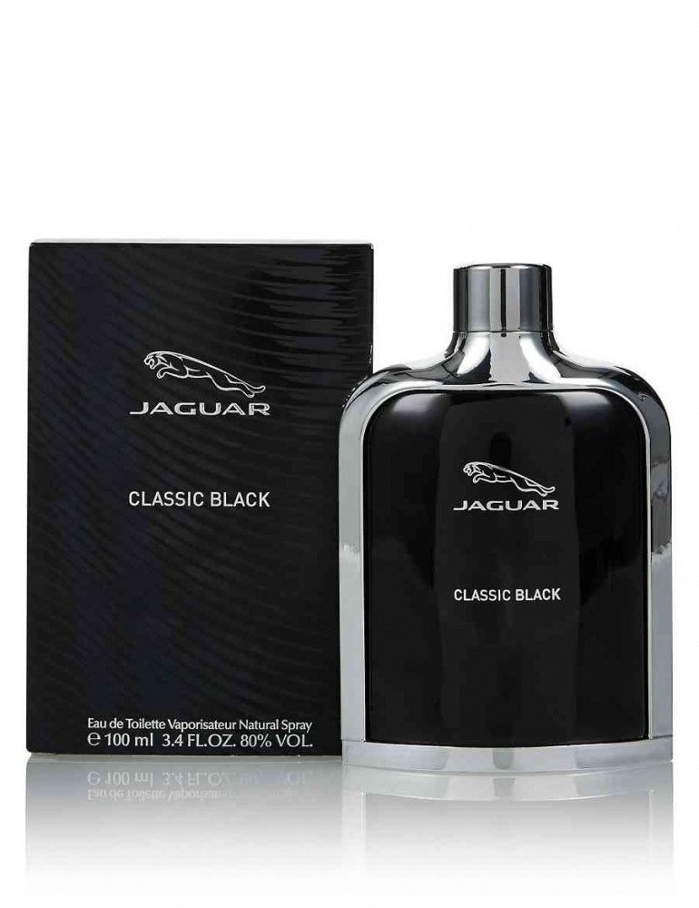 Jaguar Classic Black Eau de Toilette 100ml متجر الخبير شوب