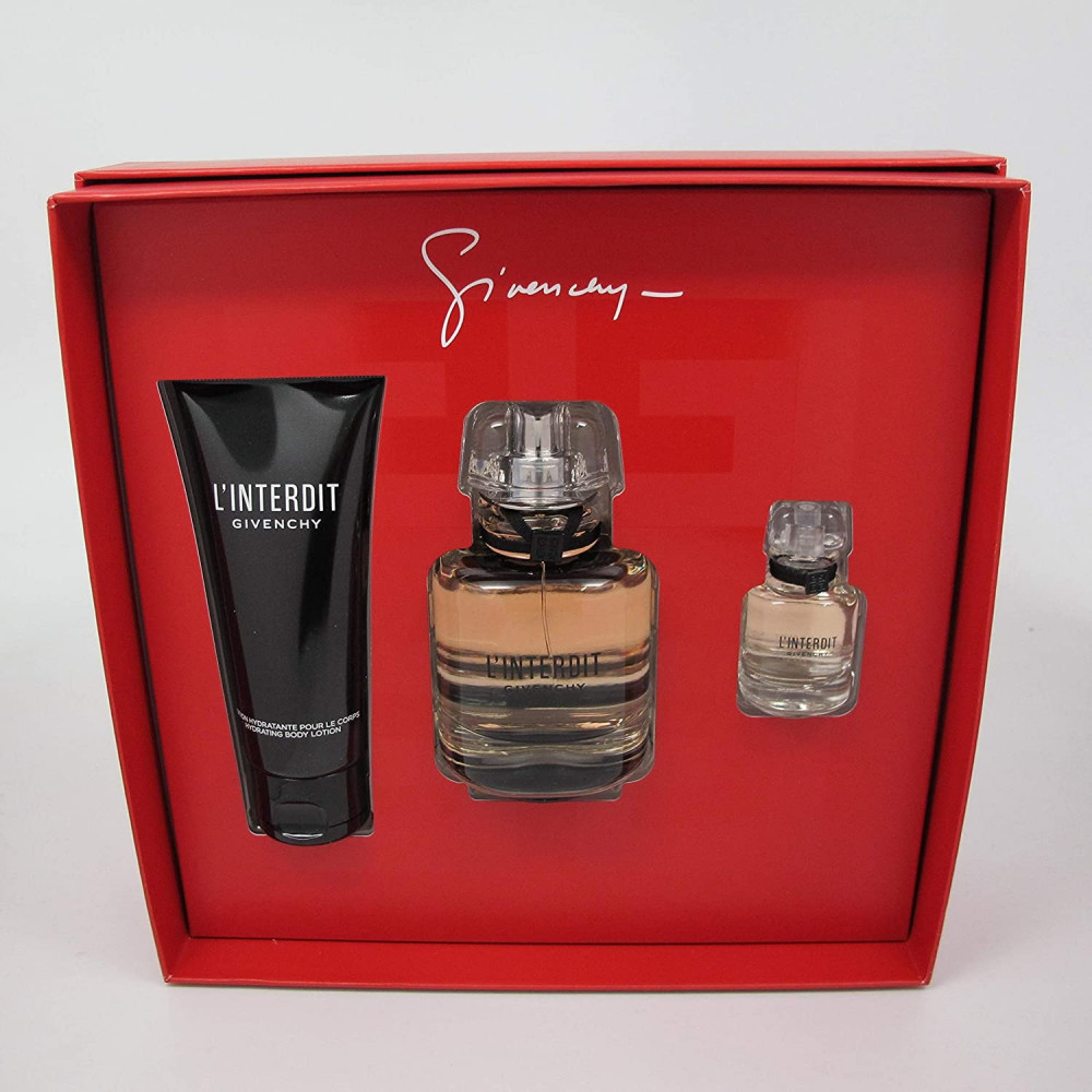 Givenchy L interdit Eau de Parfum 80ml 3 Gift Set متجر الخبير شوب