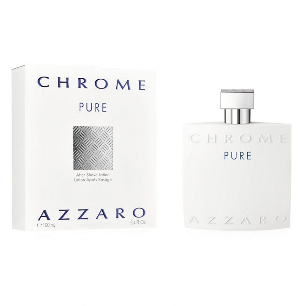 After Shave Azzaro Chrome Pure 100ml متجر الخبير شوب