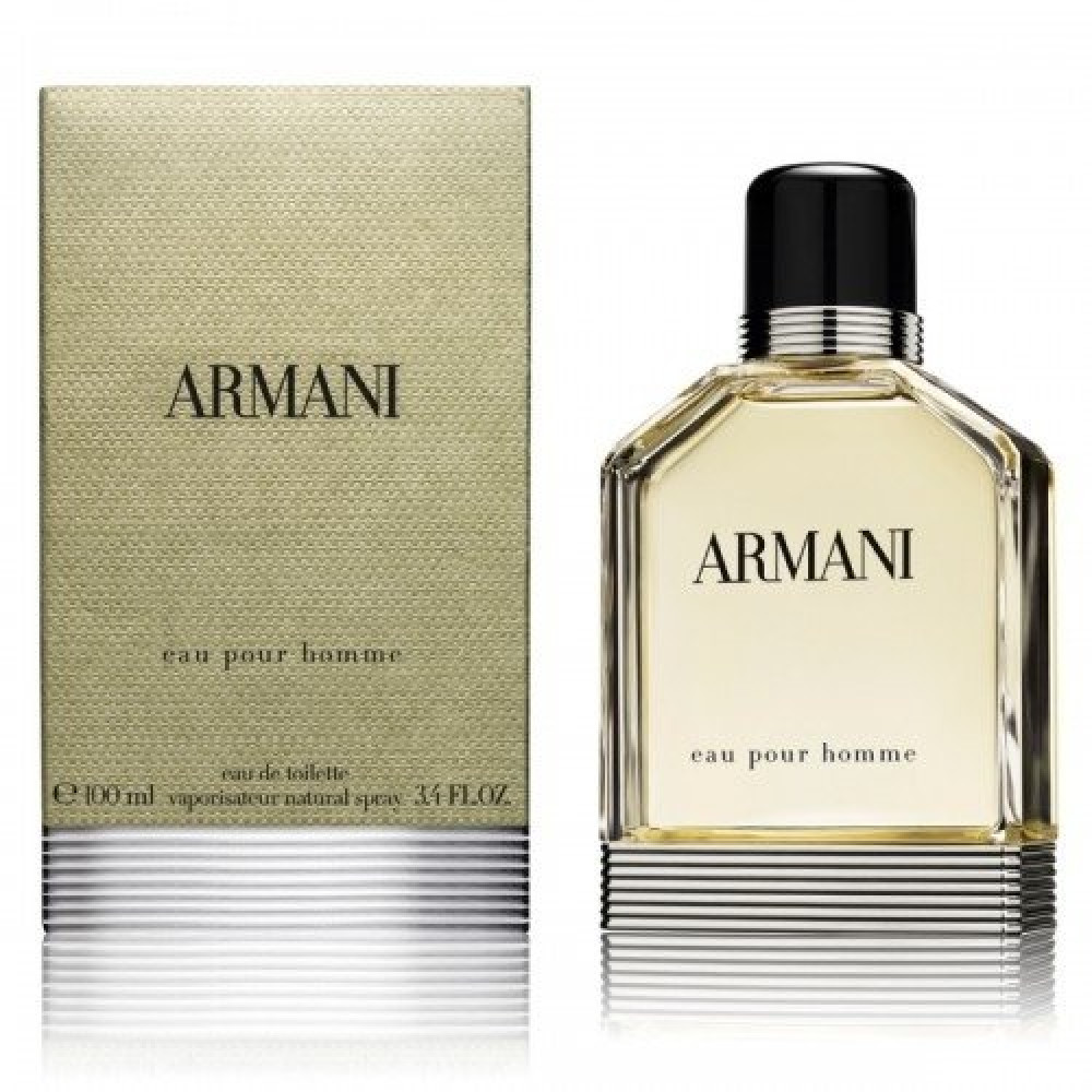 giorgio armani pour homme eau de toilette 100ml خبير العطور