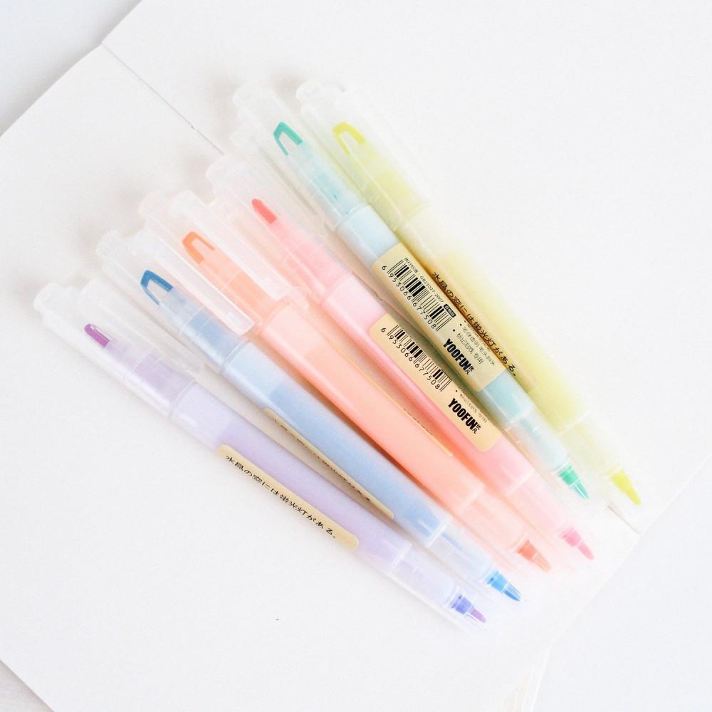 أقلام هايلايتر حبر ملونة افضل طريقة للمراجعة طريقة المذاكرة الصحيحة