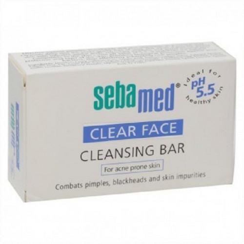 سيباميد صابون كلير فيس التنظيف 150جم Seabamed Clear Face Cleansing Bar 100 G ربوع الميدان Rube Almmidan