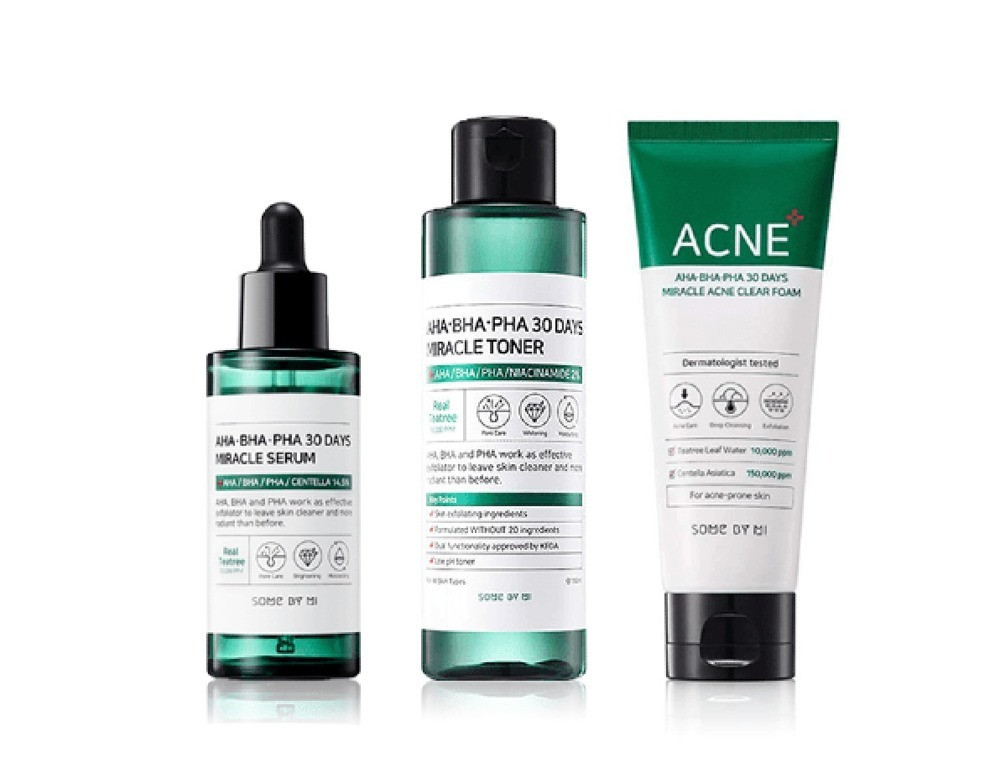 Travel Kit for Miracle Exfoliating Acids