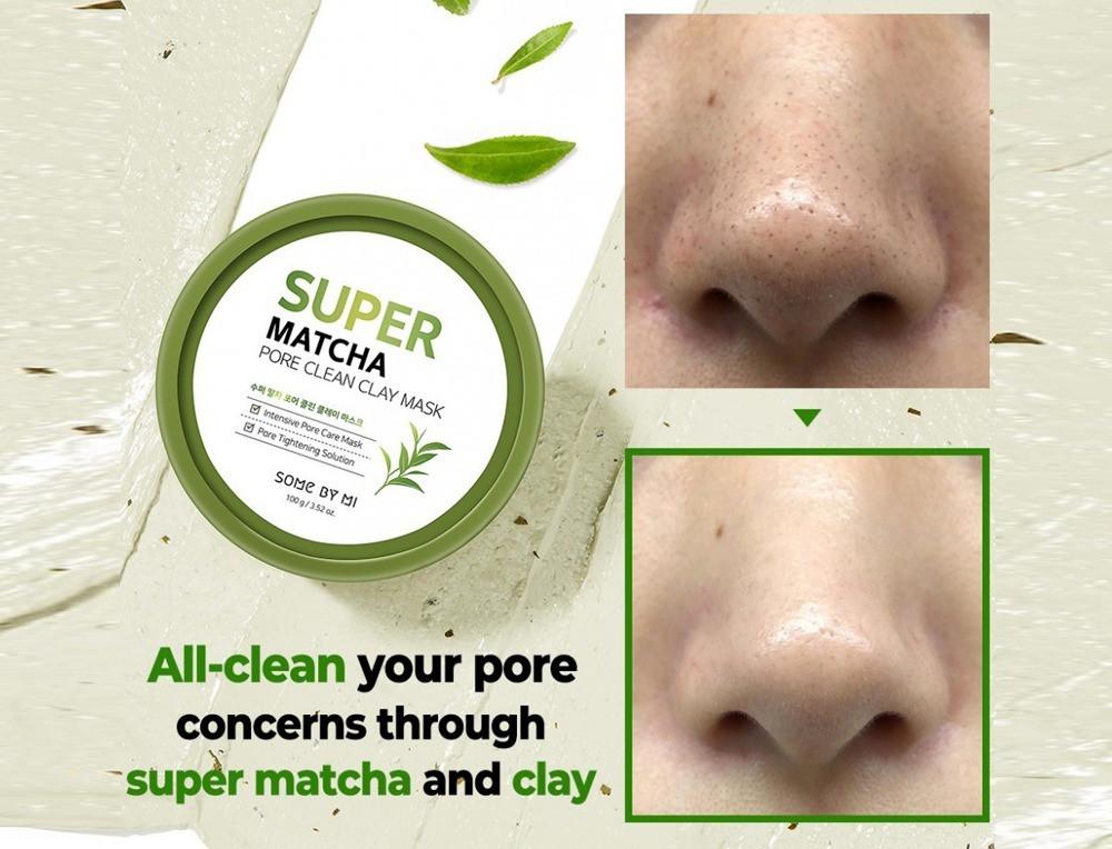 Super Matcha Pore Clay Mask