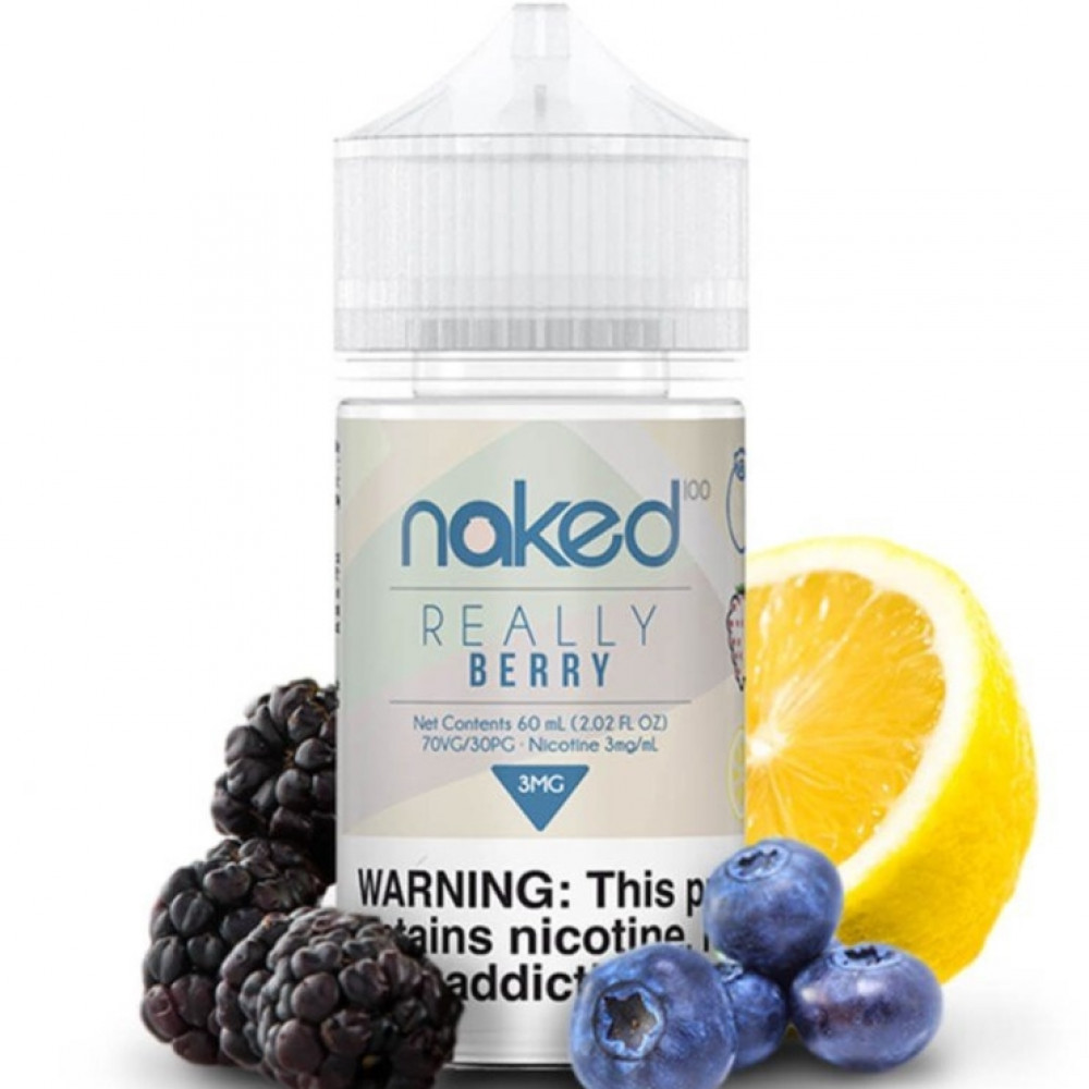 Naked Really Berry - 60ML - شيشة سيجارة نكهات VAPE فيب