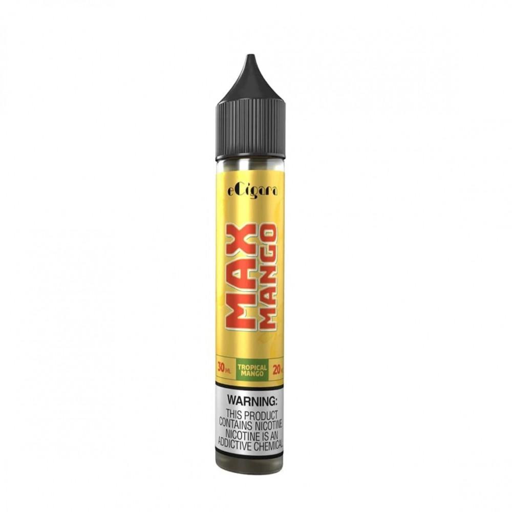 نكهة ماكس مانجو سولت نيكوتين - ECIGARA MAX Mango Salt Nicotine