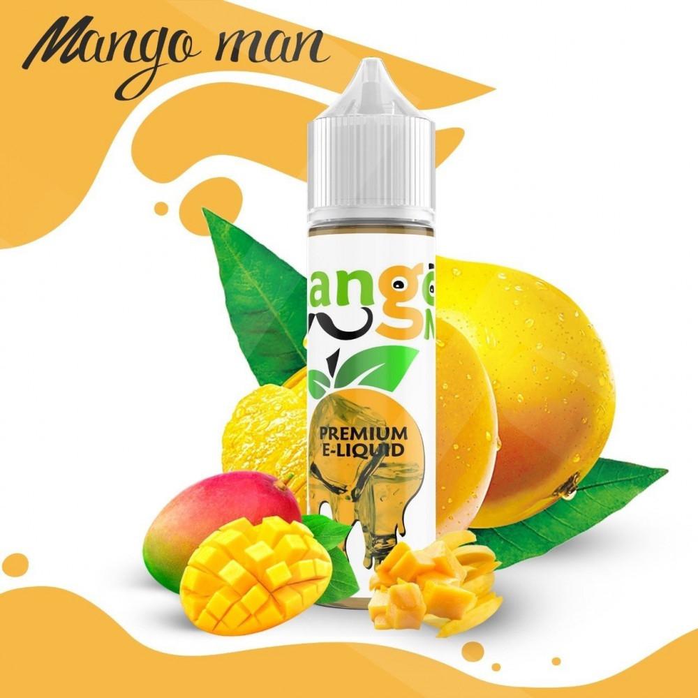 نكهة بريميم ايس مانجو مان 60 ملي - PREMIUM Mango Man iced - 60ML