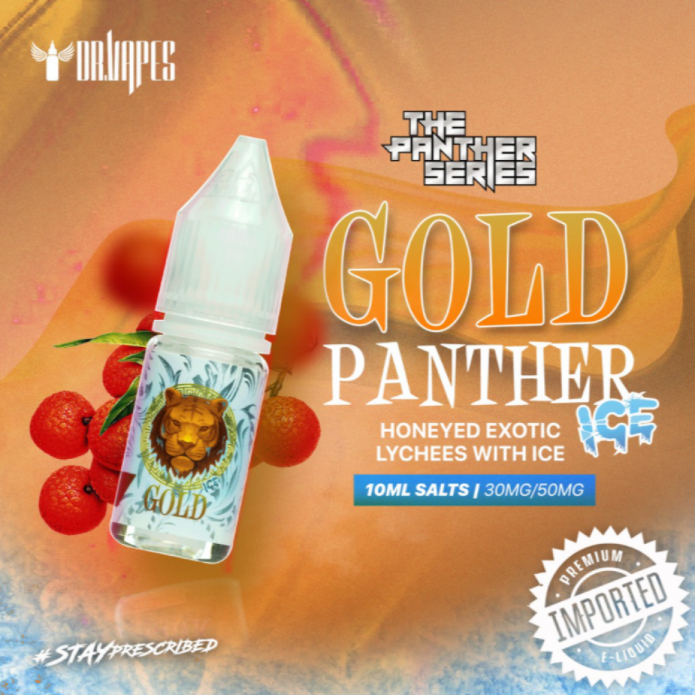 Pink Panther Gold  ICE - Salt Nicotine -10ML