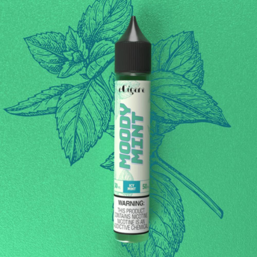 نكهة مودي ايس نعناع سولت نيكوتين - ECIGARA Moody icy Mint - Salt Nicot